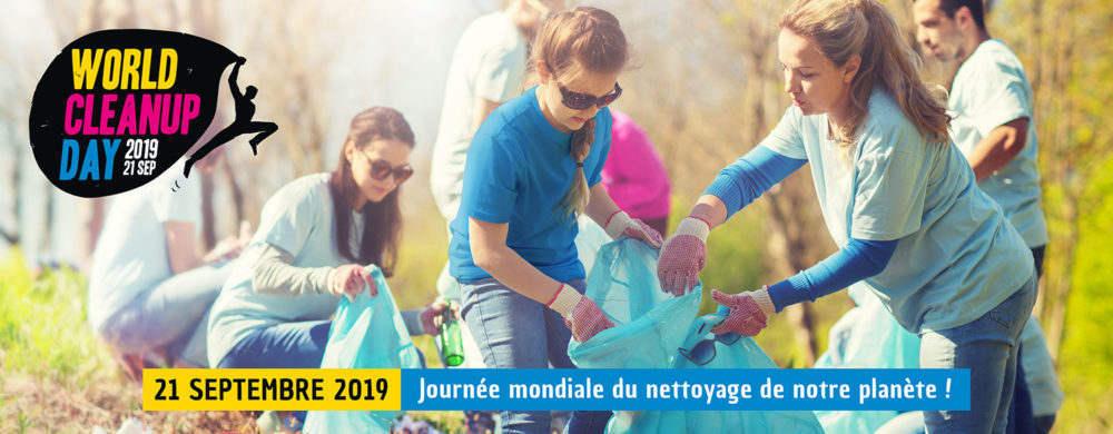 Journée mondiale nettoyer déchets