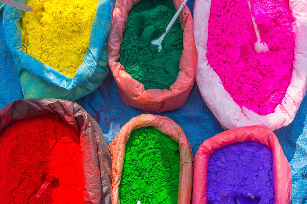 Pigments sacs Tet color