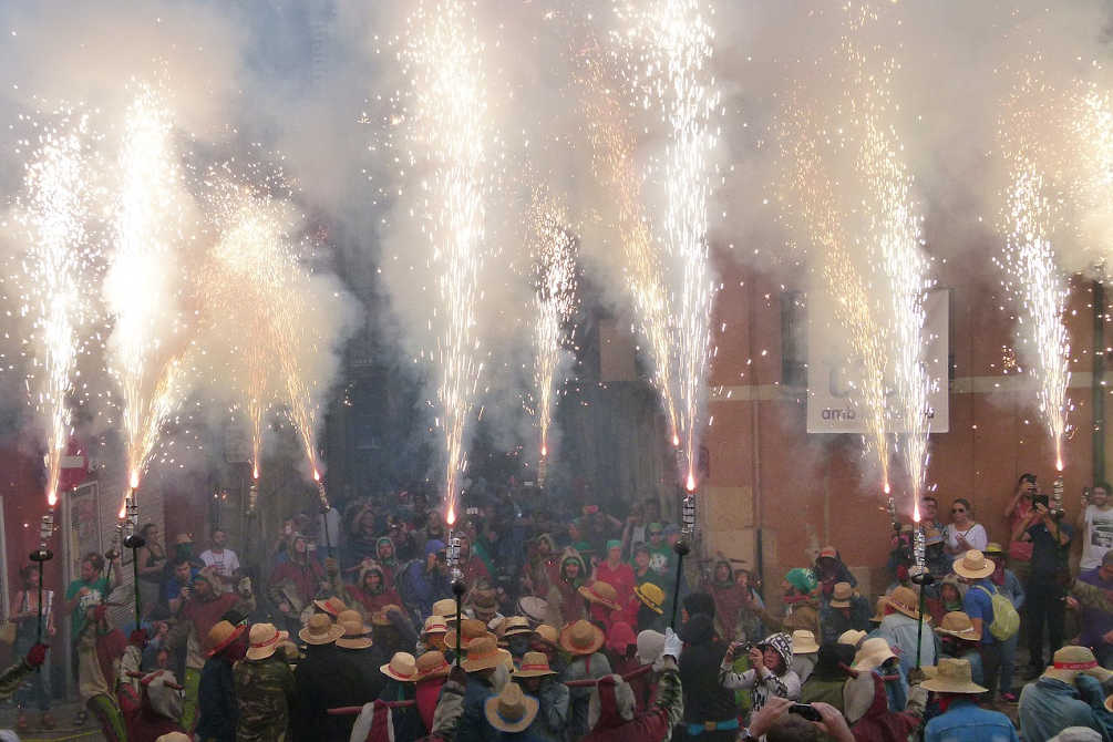 tarragone santa tecla festivité culture
