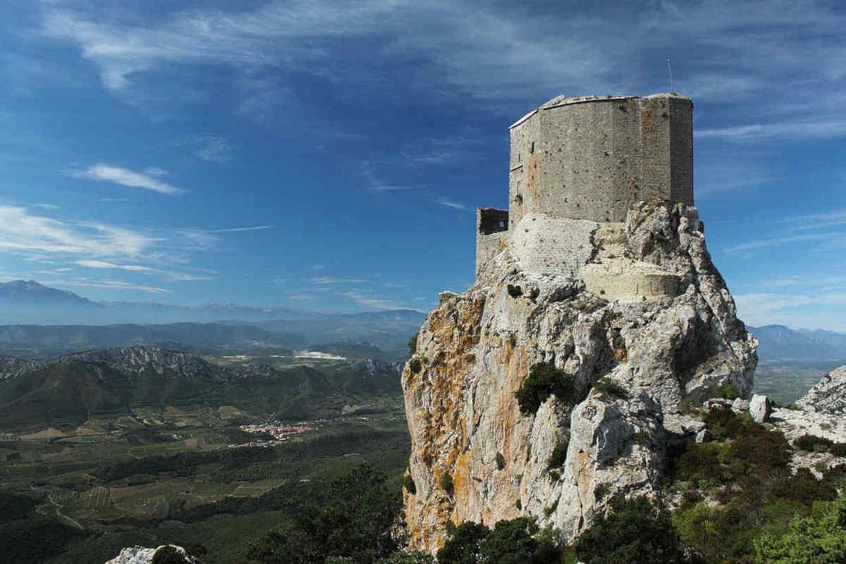 chateau queribus maury
