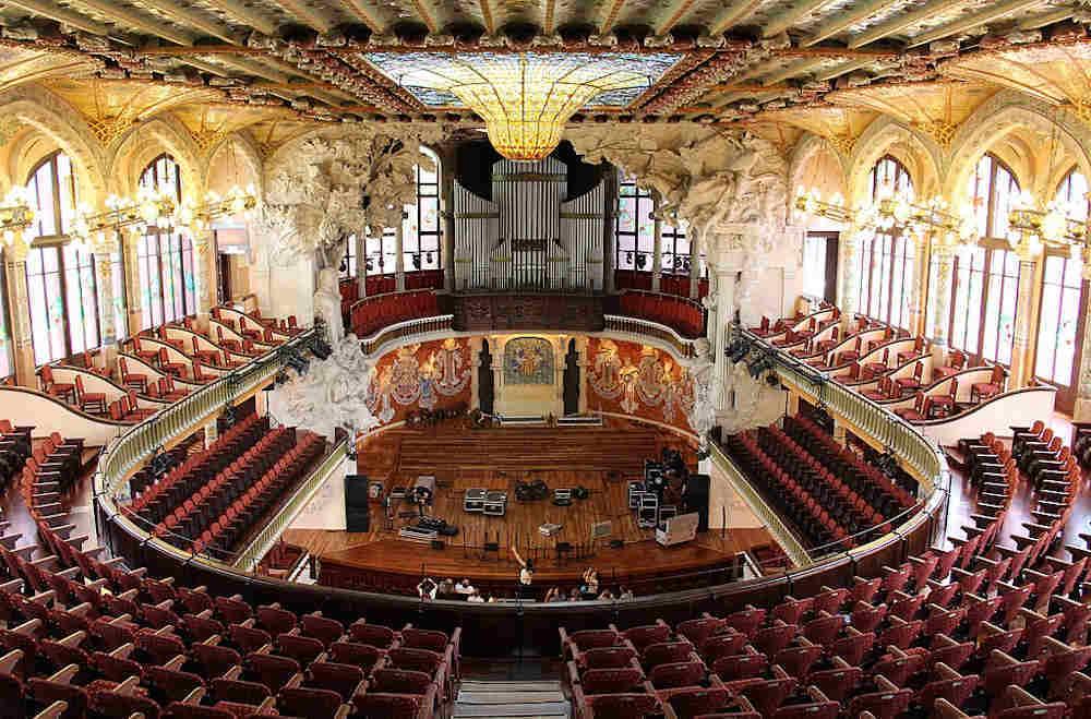 barcelone palais musique