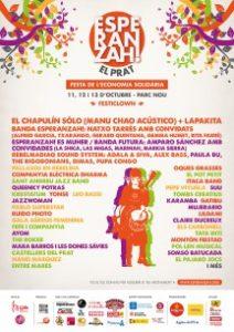 affiche artistes festival esperanzah