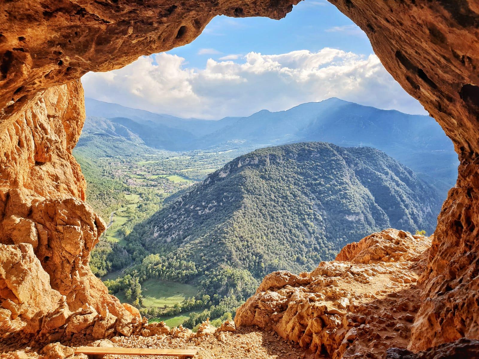 Panoramique Grotte Conflent