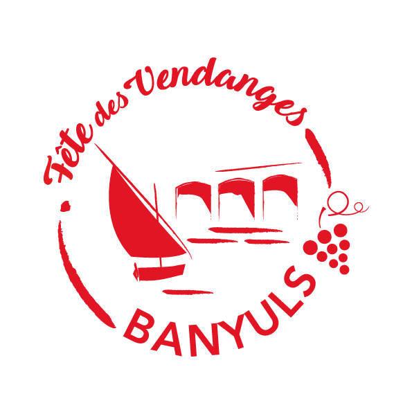Visuel rouge Fête Vendanges Banyuls