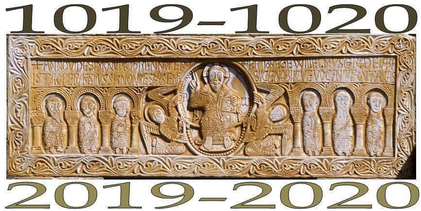 1000 ans fête anniversaire linteau