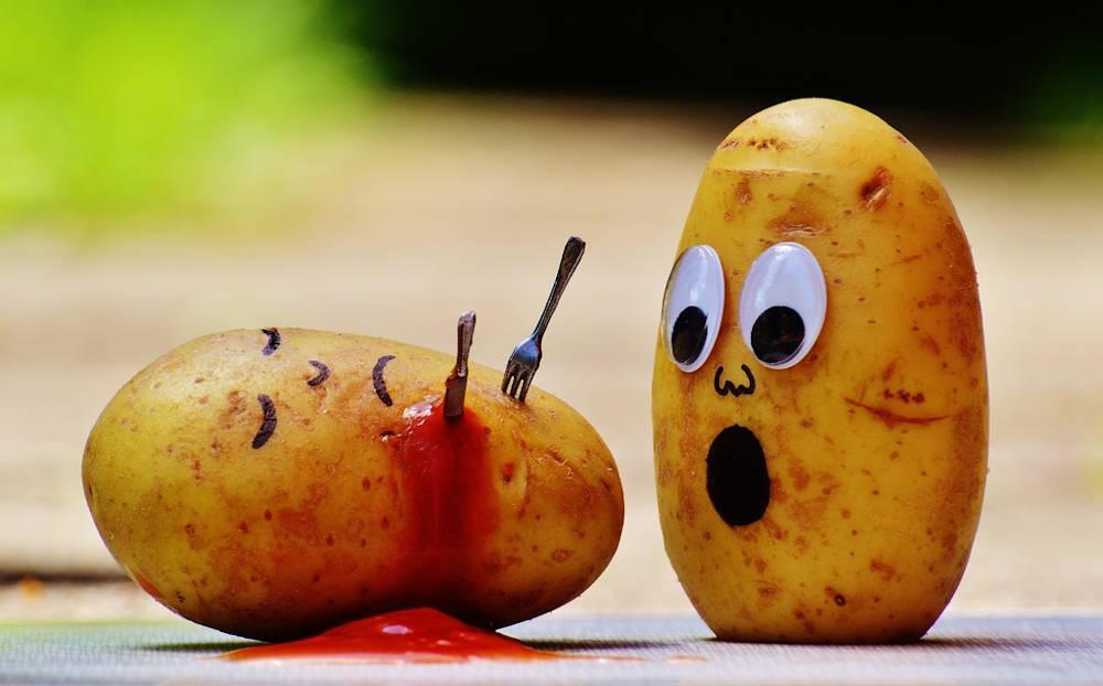 Pommes de terre animation