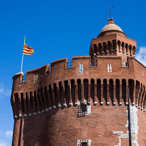 castillet chateau Perpignan