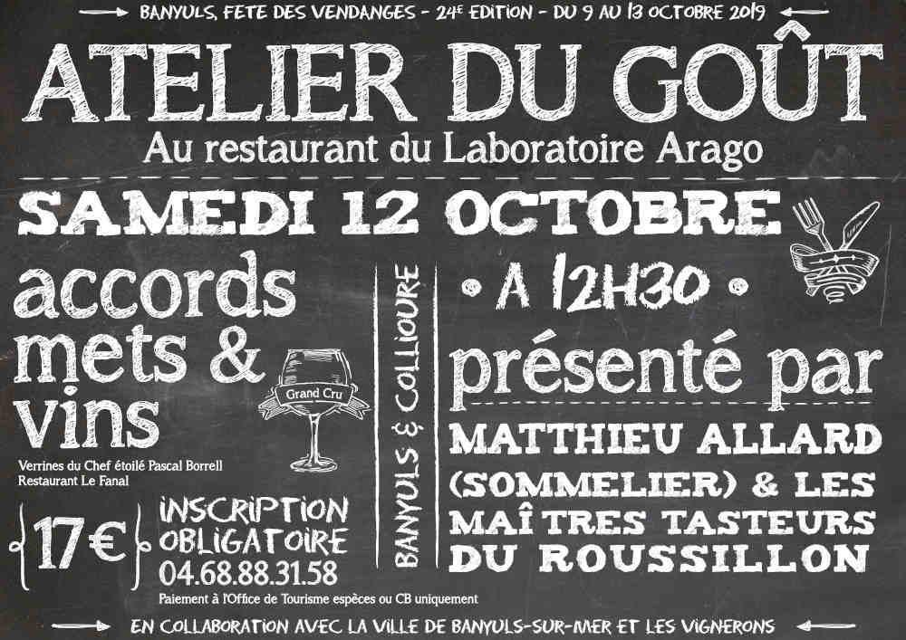 Visuel officiel repas gourmand Roussillon