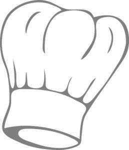 Dessin Toque cuisinier