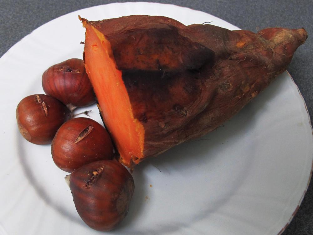 batata catalane chataignes plat