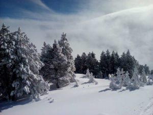 piste enneigé station de ski pays catalan occitanie
