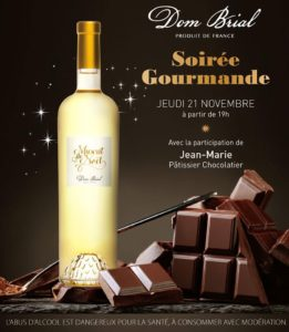 muscat bouteille vin blanc brial