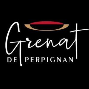 affiche logo grenat perpignan