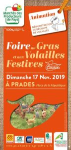 visuel foie-gras prades Pyrénées orientales