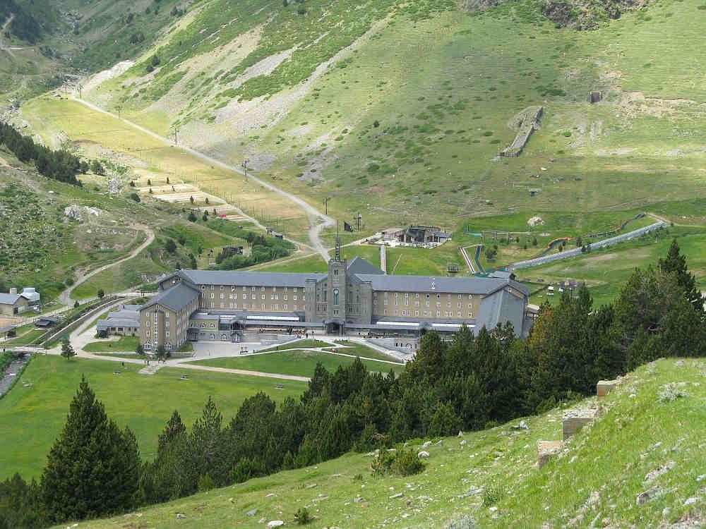 sanctuaire vallée de nuria nature patrimoine catalogne
