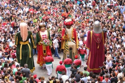 fête tradition barcelone tourisme catalogne