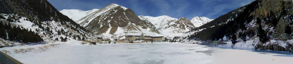 vallée de nria domaine skiable catalogne