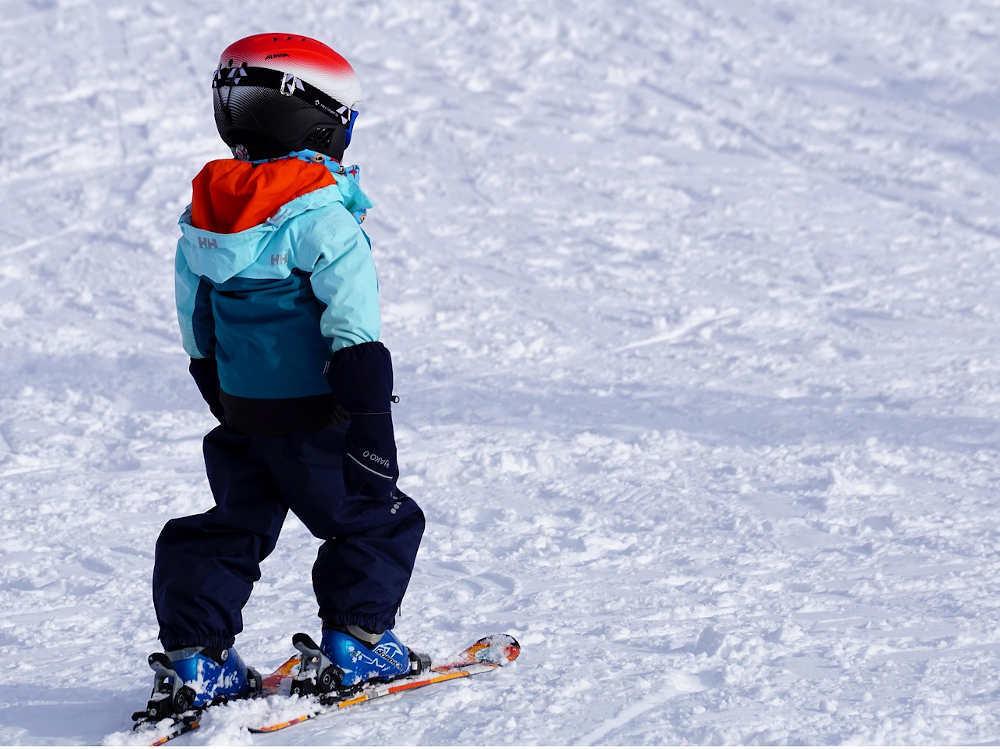 glisse bebe jeu ski
