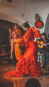 tablao barcelone dance andalouse
