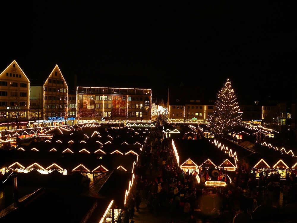 illumination nadal nuit