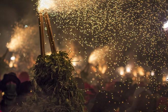 barcelone tradition festivités feu correfocs