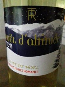 bouteille vin noël catalan
