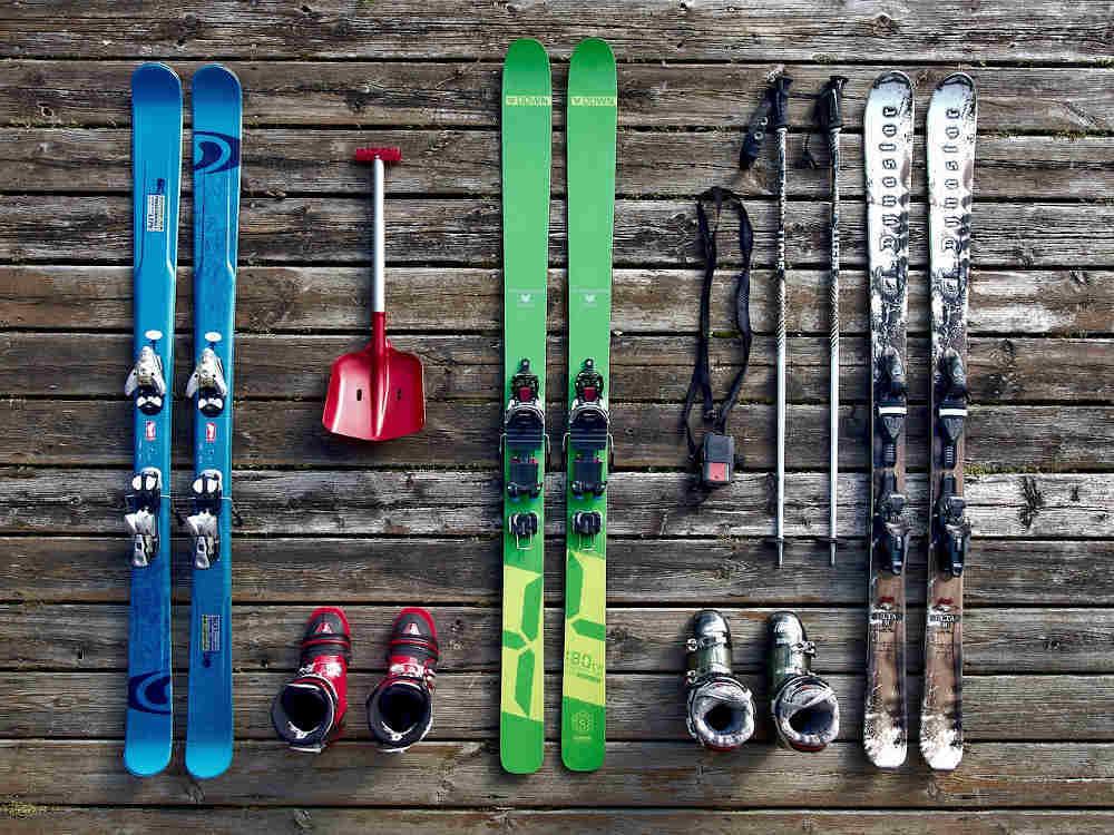 outils ski matériel glisse