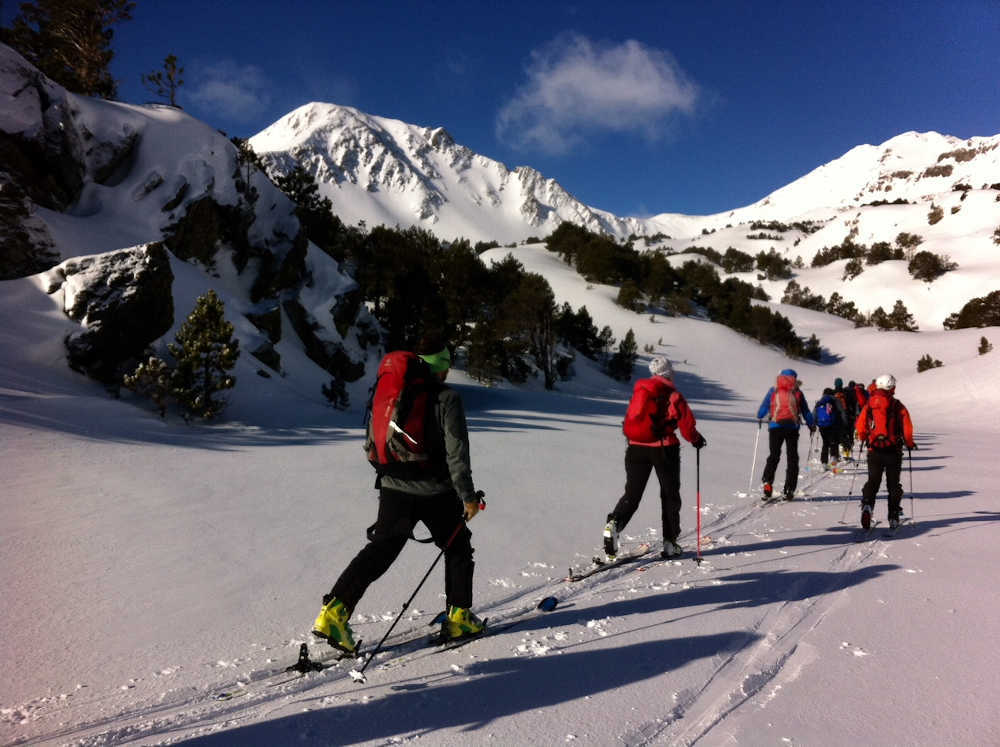 neige montagne rando ski nordique catalane
