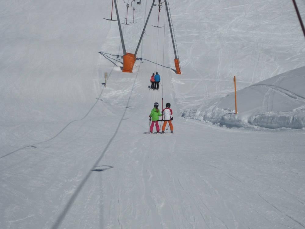 siege mecanique station ski