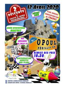 descente course fun activité pays catalan