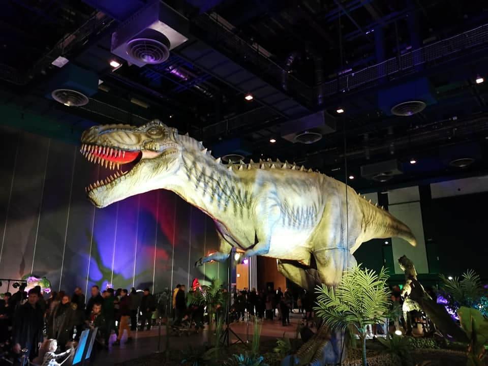 exposition t-rex préhistoire