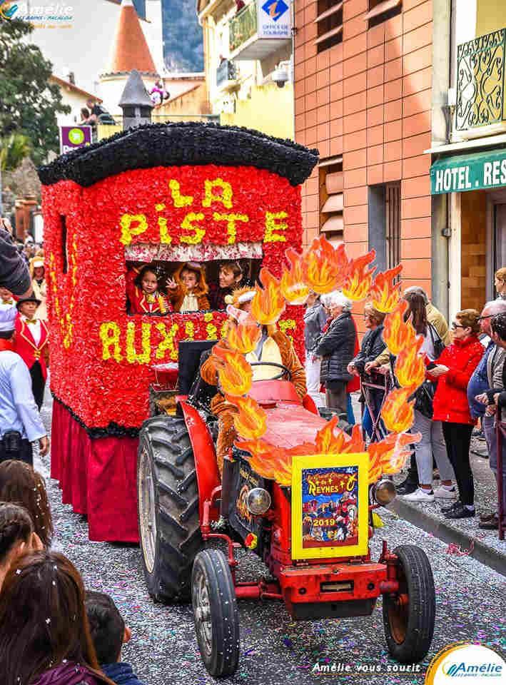 défilé fête traditionnelle pyrénées orientales