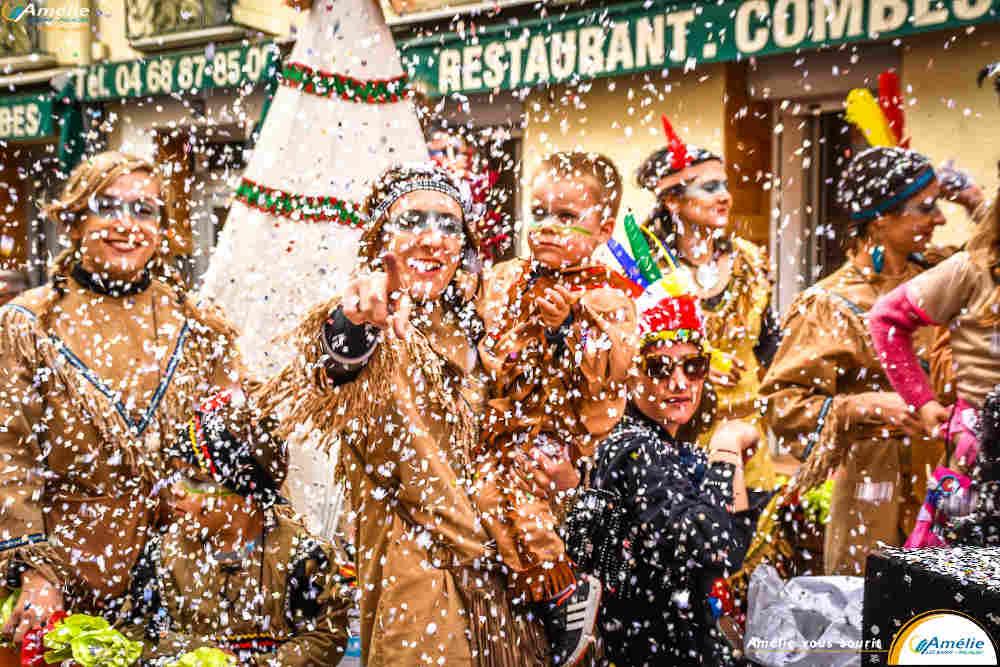 carnaval, 2020, Amelie-les-bain Mardi Gras,