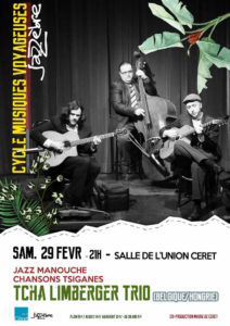 jazz Tcha Limberger Trio, festival pays catalan quoi faire