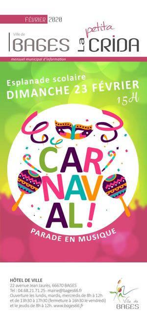 bages carnaval confettis événement pyrénées orientales