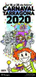 carnaval tarragona 2020 parade masque