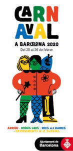 carnaval barcelona catalogne
