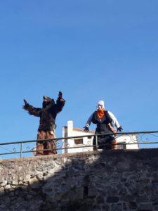 Fête du viel ours saint laurent de cerdans