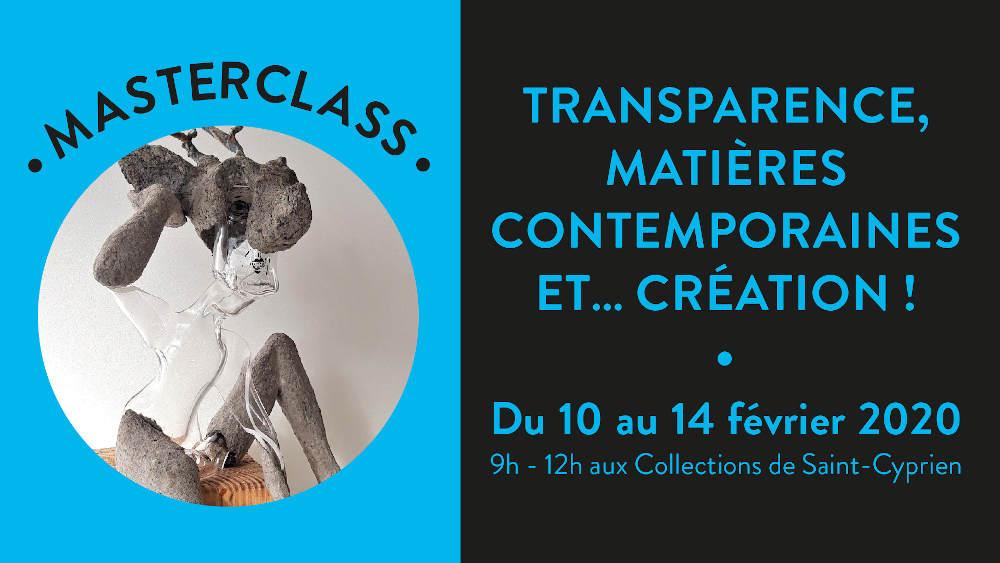 masterclass création transparence