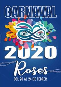 carnaval 2020 roses masque