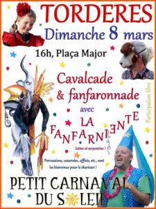 Tordères petit Carnaval du soleil pays catalan