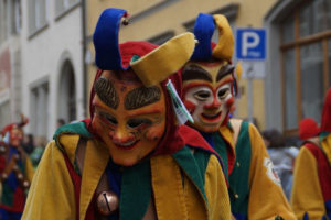 masque tradition carnaval 2020 clown