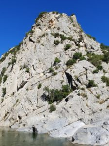 gorges de gouleyrous escalade nature sport