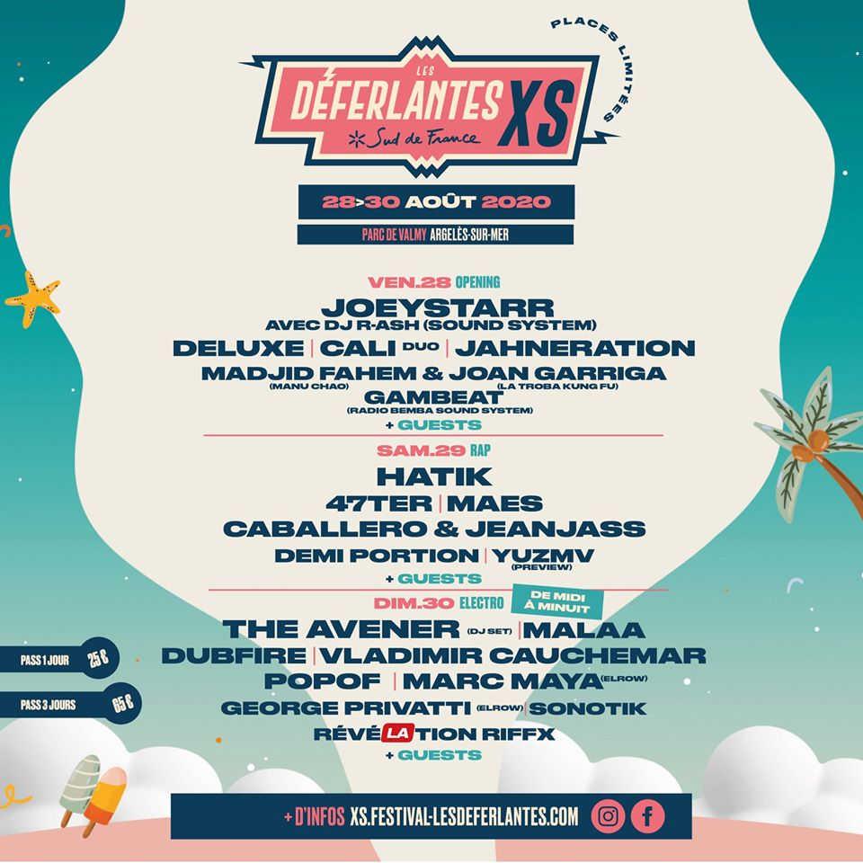 édition 2020 festival musique déferlantes sud de france