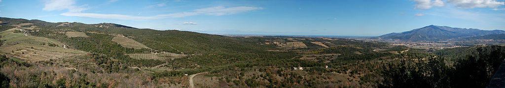 roussillon pays catalan pyrénées orientales paysages