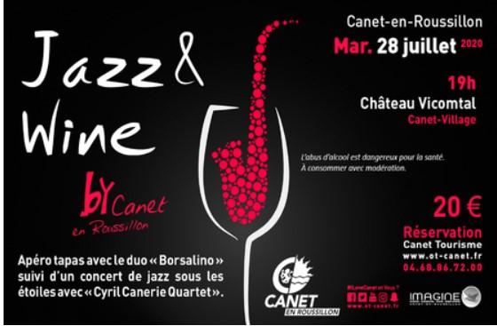 jazz & wine canet en roussillon pyrénées orientales