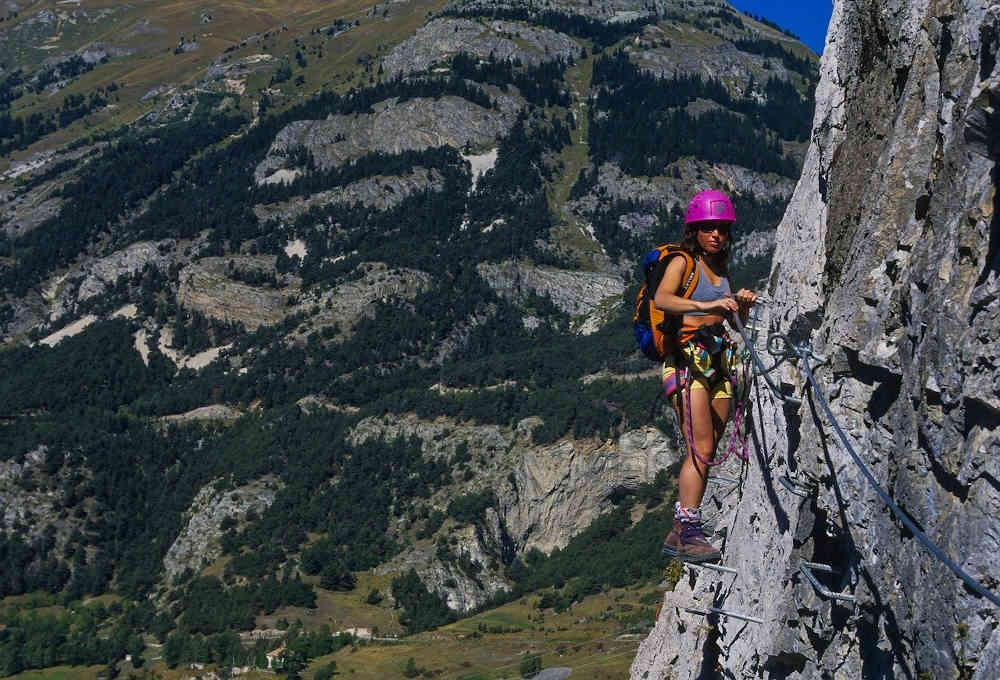 activité extrême pyrénées orientales montagne nature