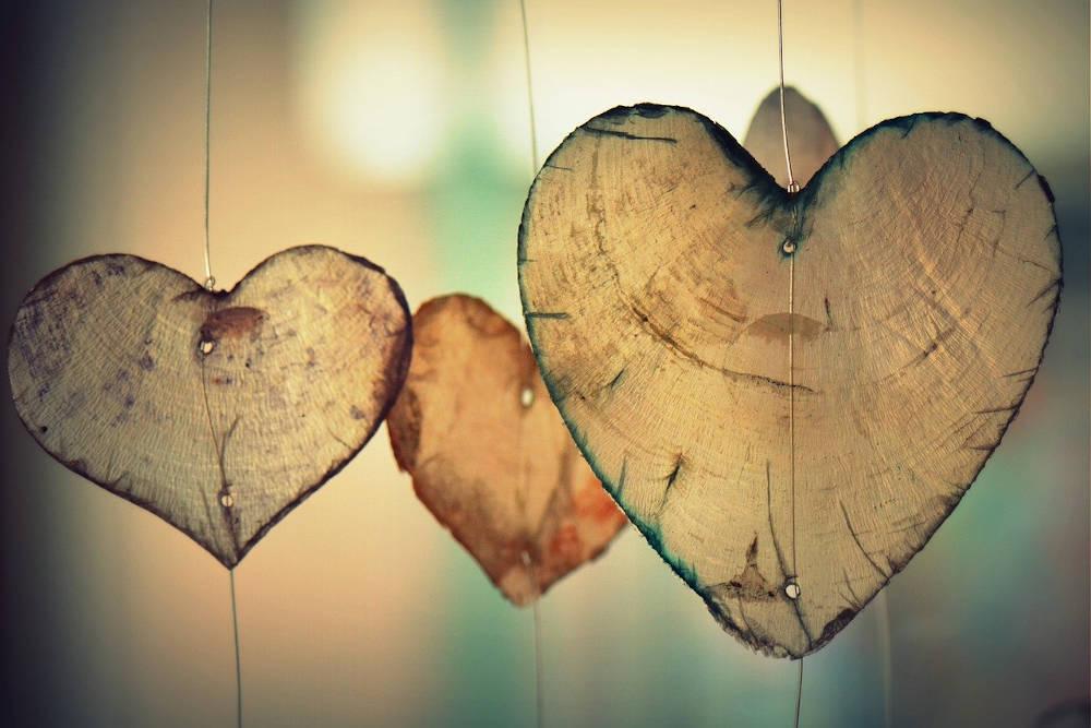 3 cœurs