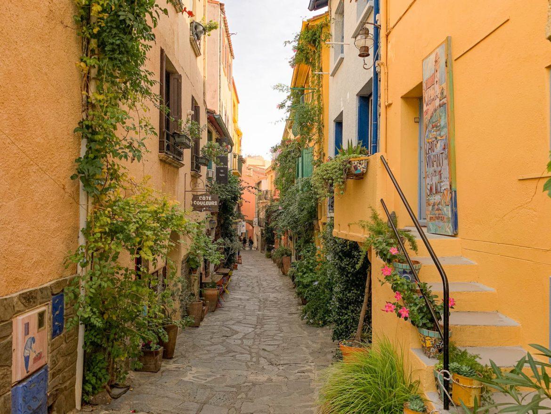 Collioure village cote vermeille