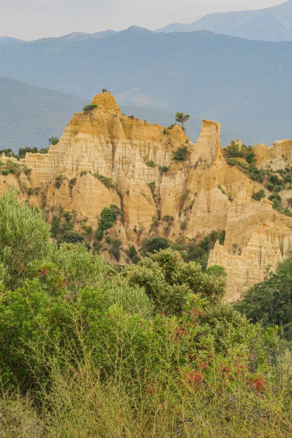 les orgues d'ille sur tet curiosités géologiques pyrénées orientales